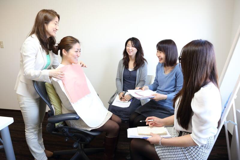 パーソナルカラー診断3人のコースを再開!@東京青山サロン
