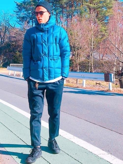パーソナルカラー別メンズ冬コーデ@東京・青山